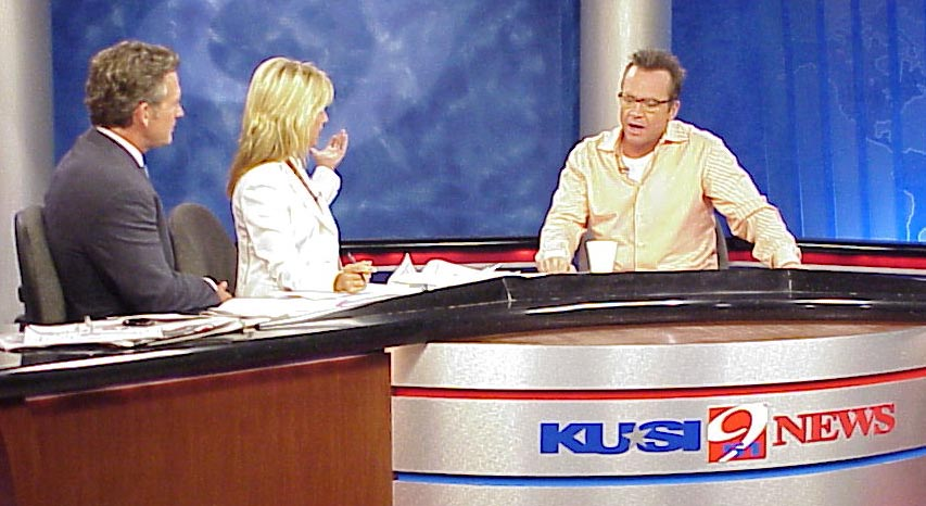 Tom Arnold on the KUSI morning news to talk about his new movie 'Happy Endings'