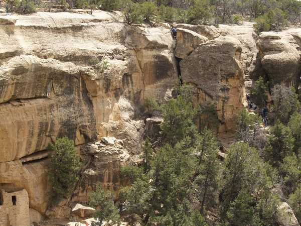 Cliff Palace in Mesa Verde, Colorado by Phil Konstantin